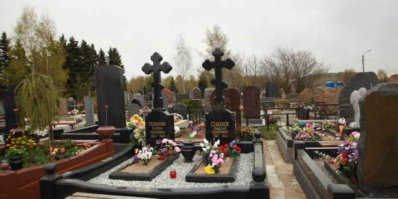 Кладбища и крематории Санкт-Петербурга
