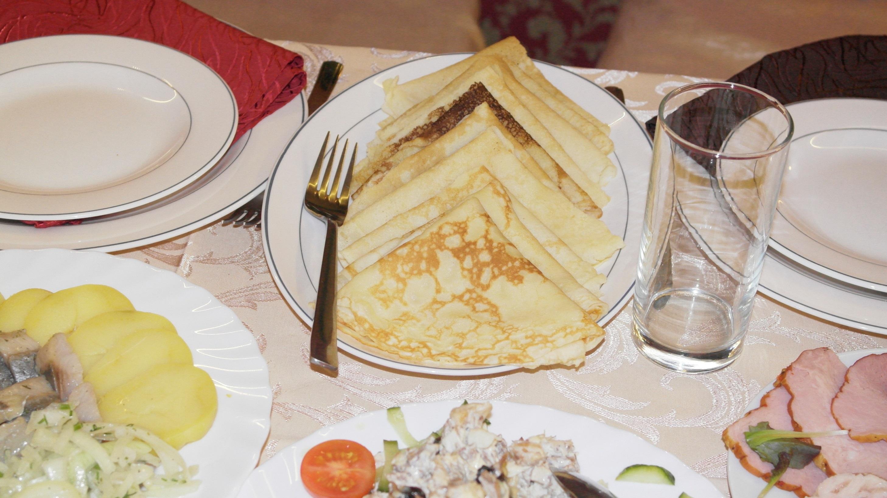 Рецепты блинов на поминальный обед