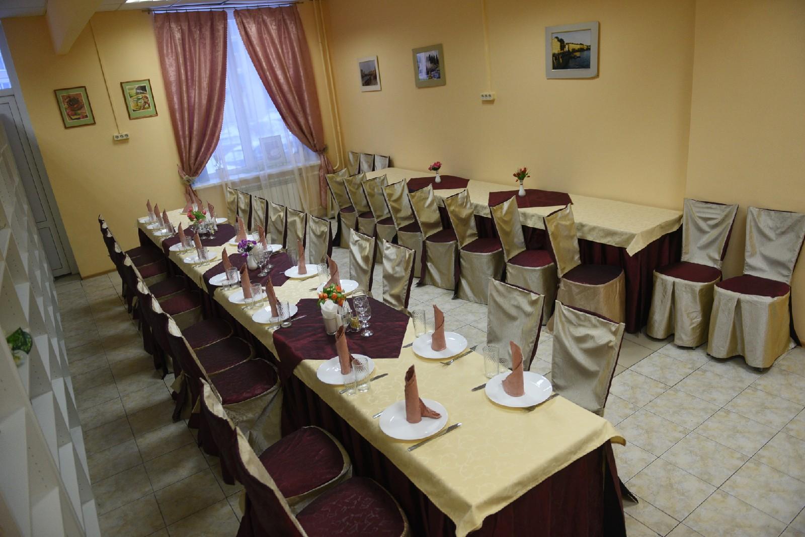 Поминальные залы около крематория в Красногвардейском районе